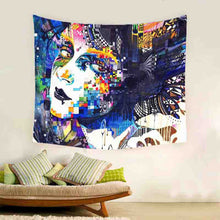Day of The Dead Designer Tapestry | Wall hanging | Bed Sheet | Beach Or Picnic Sheet