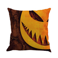 Halloween Haunted Pictures Square Throw Pillow Cases and Cushion Covers