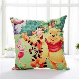 Disney Cartoon Friends Decorative Pillowcases