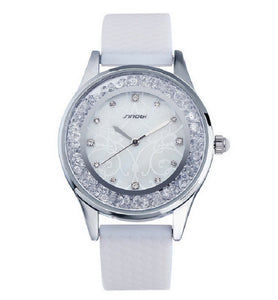 SINOBI Luxury Diamond Fashion Women Quartz Watch
