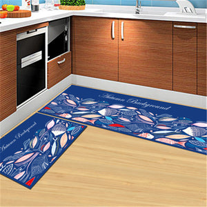 Colorful Non Slip Kitchen Mats and Rugs