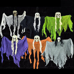 Haunted Halloween Props Hanging Skull Skeleton Ghost Halloween Party Decoration