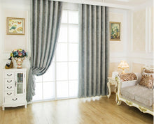 Shiny Path Textured Jacquard Door and Window Curtains