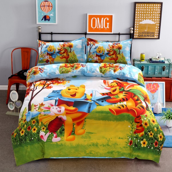 Disney Mickey or Minnie Mouse Duvet Cover Set