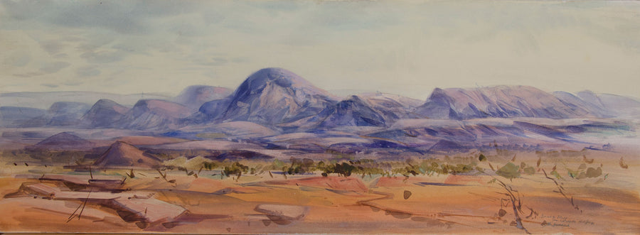 Towards Brinkly Bluff from Larapinta