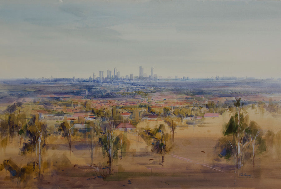 City From Mernda Hills