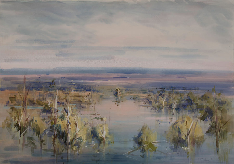 Lake Kununurra at Evening