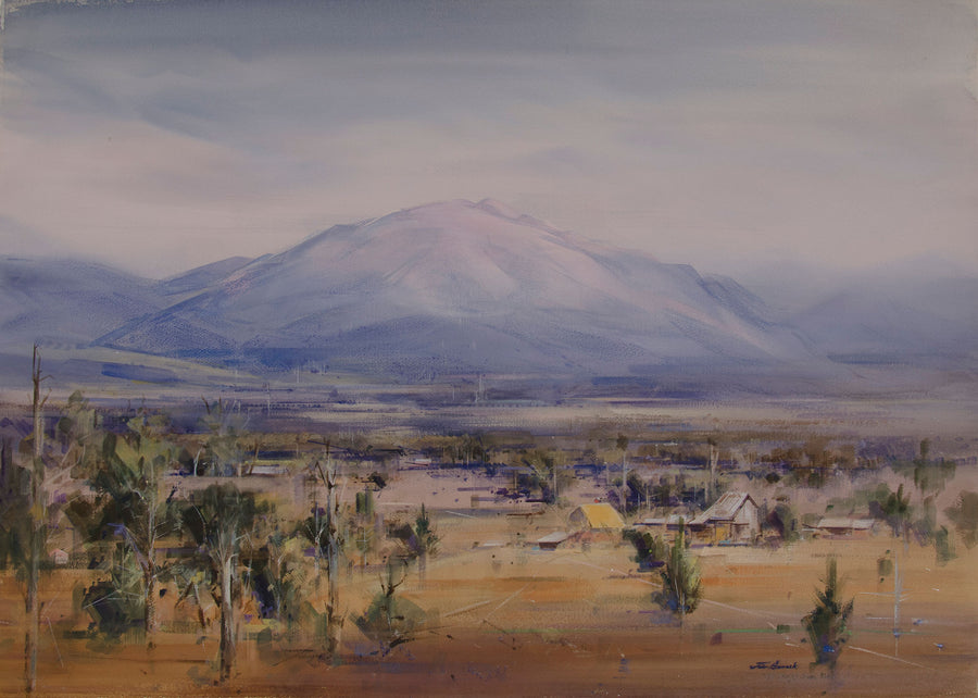 Mount Bogong from Tawonga