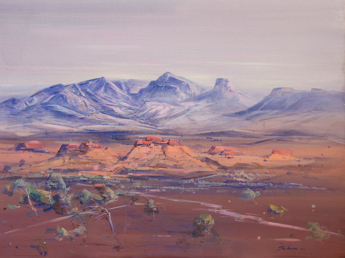 Desert Landscape with Mount Sonder