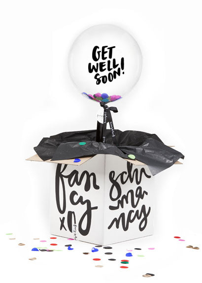 get well soon balloon free delivery