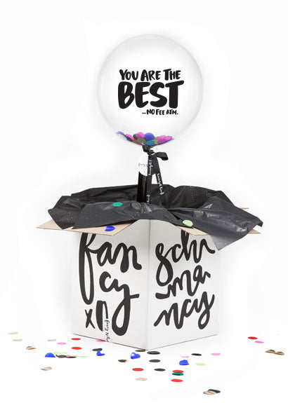 Funny Fathers Day Balloons, You Are The Best No Fee ATM Balloon