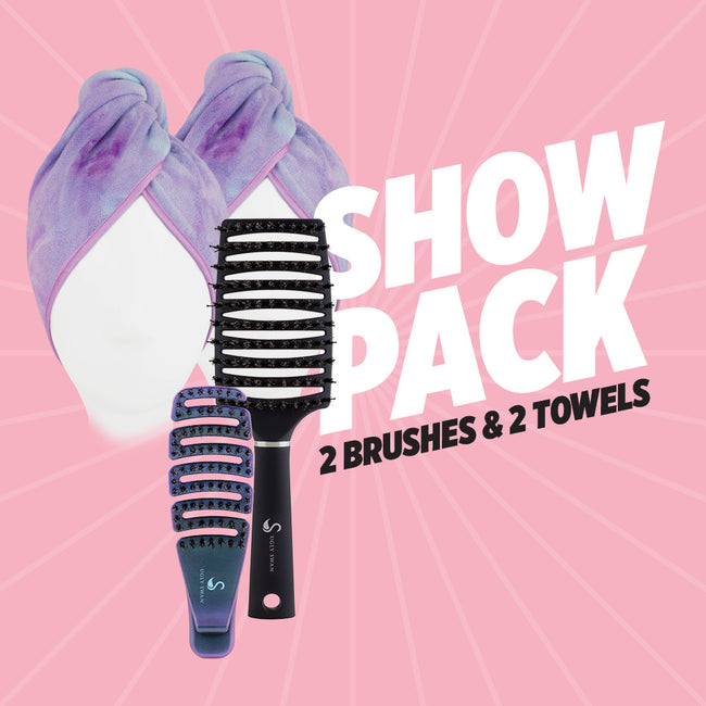 Sensory Hair Brush Mixed Show Pack