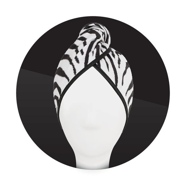 Wholesale Wild Hair Towel Zig Zag