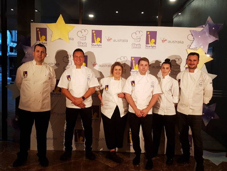 starlight five chefs dinner | 21 wishes granted