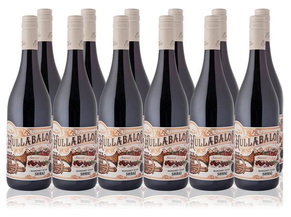 hullabaloo shiraz bin end case of 12