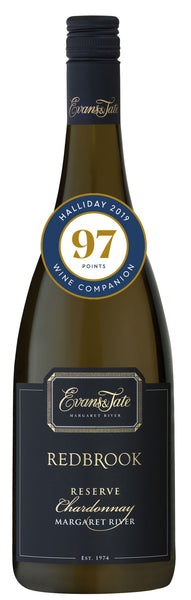 Redbrook 2014 Reserve Chradonnay from Evans & Tate - 97 points from Halliday Wine Companion 2019