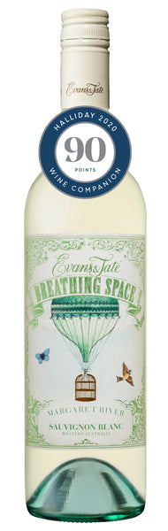 Evans & Tate 2018 Breathing Space Sauvignon Blanc awarded 90 points in Halliday Wine Companion 2020