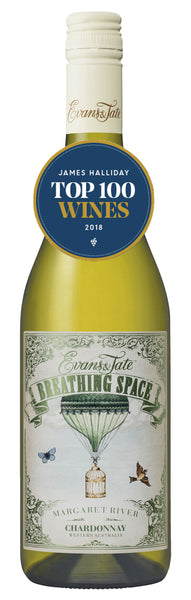 Evans & Tate 2017 Breathing Space Chardonnay in James Halliday's Top 100 Wines 2018
