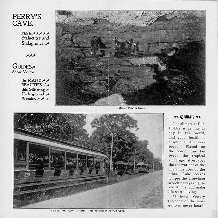 Perry's Cave. Guides. Climate.