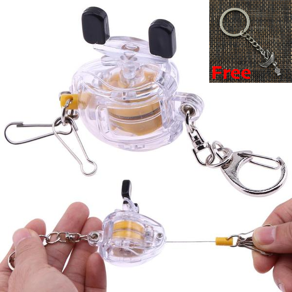 Mini Fishing Keychain + FREE Fashion Boat Keychain Gift - TurninGEAR