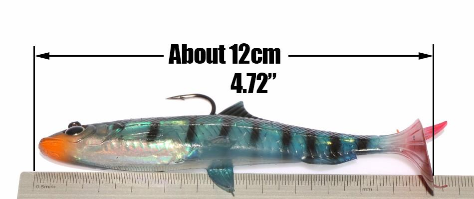 Unique High Quality 5 Pieces Swimbaits - TurninGEAR