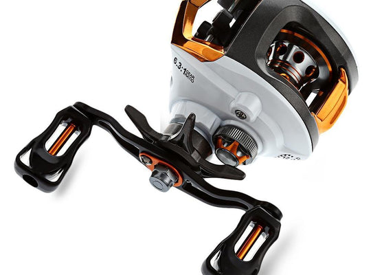 12+1 Ball Bearings Waterproof Left / Right Hand Baitcasting Reel - TurninGEAR