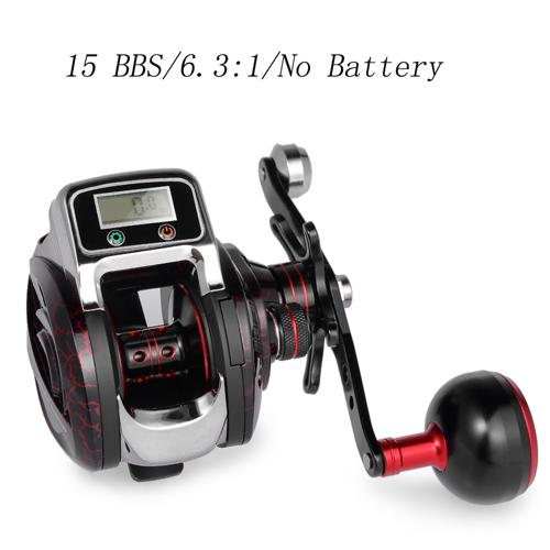 Baitcasting Line Counter 14+1 BB Ball Bearing Reel - TurninGEAR