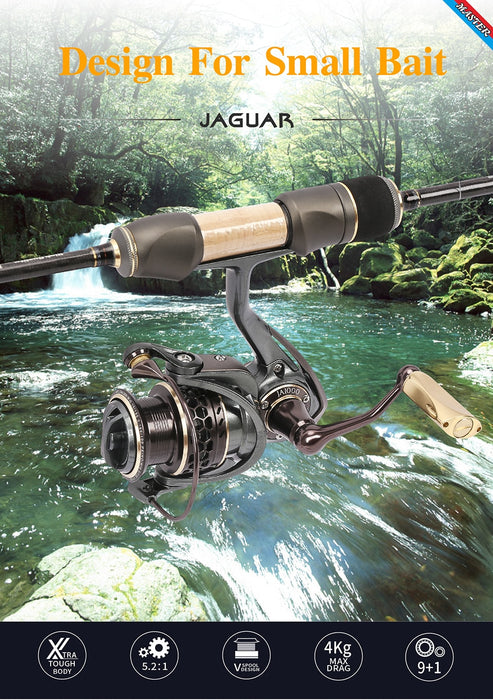 TurninGEAR Jaguar Double Spool Stainless Steel Spinning Reel