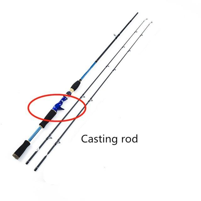 High Quality 2 tips M/ML Spinning / Casting Rod