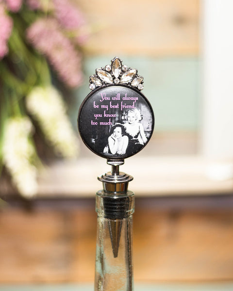 You Know Too Much Wine Stopper-Tracy Zelenuk-Shop Anchored Bliss Women's Boutique Clothing Store
