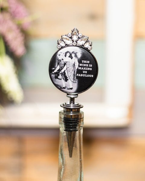This Wine is Making Us Fabulous Wine Stopper-Tracy Zelenuk-Shop Anchored Bliss Women's Boutique Clothing Store