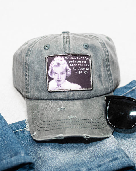 Someone Has to Clap Messy Bun Baseball Cap-Tracy Zelenuk-Shop Anchored Bliss Women's Boutique Clothing Store