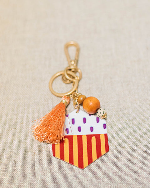 Grateful Thankful Blessed Keychain-Jane Marie-Shop Anchored Bliss Women's Boutique Clothing Store