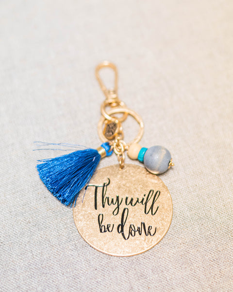 Thy Will Be Done Keychain-Jane Marie-Shop Anchored Bliss Women's Boutique Clothing Store
