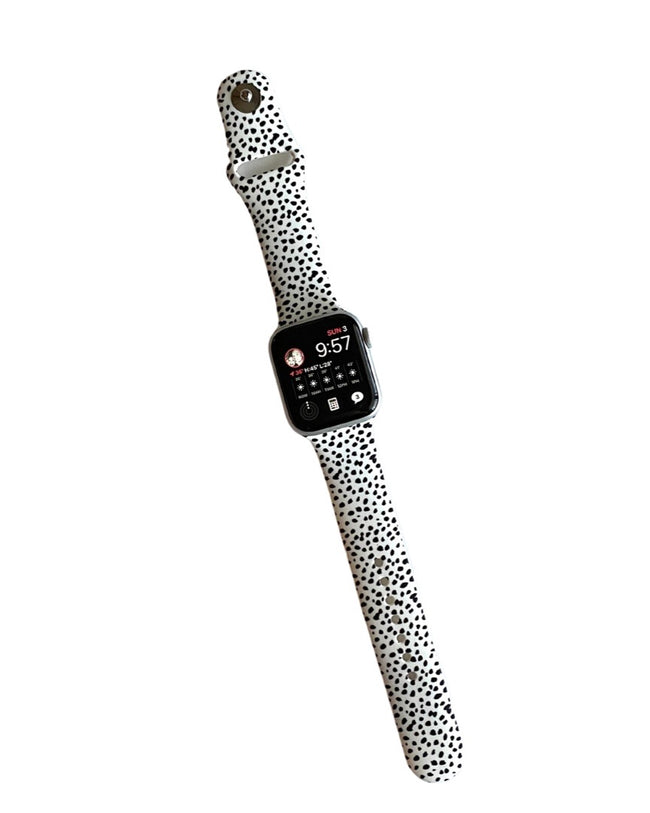 Apple Watch Band • Dalmatian-The Watch Shoppe-Shop Anchored Bliss Women's Boutique Clothing Store