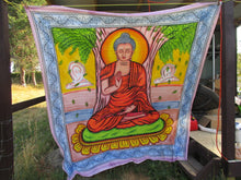 Thai Buddha Tapestry-Hand Painted