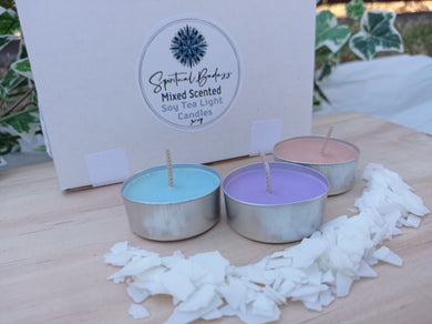 Scented Soy Tealight Candles