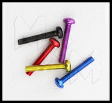 18MM M3 Anodized Aluminum Screw - Choose your color