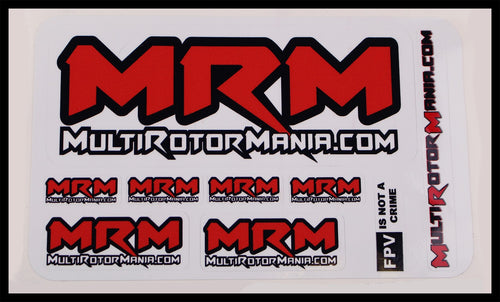 MultiRotorMania.com Sticker Sheet