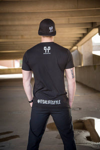 "Men's Push & Pull Original ""#itsalifestyle"" Crew neck"