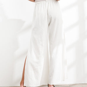 Saidy Side Slit Pants