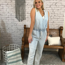 Bethany Sleeveless Halter Jumpsuit