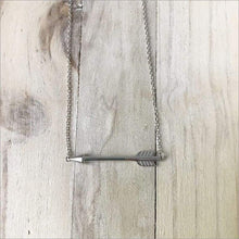 Arrow Necklace ~ Sterling Silver