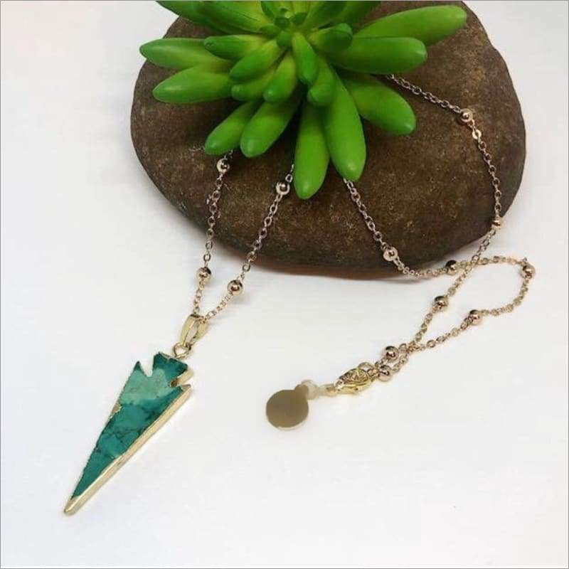 Berrma Necklace Necklace Arrowhead Jewelry Necklace
