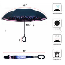 Feather Double Layer Inverted Umbrella Umbrella Umbrella