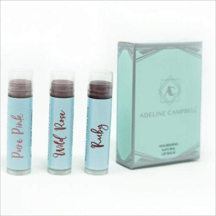 Lip Balm Trio - Naturally Tinted Organic