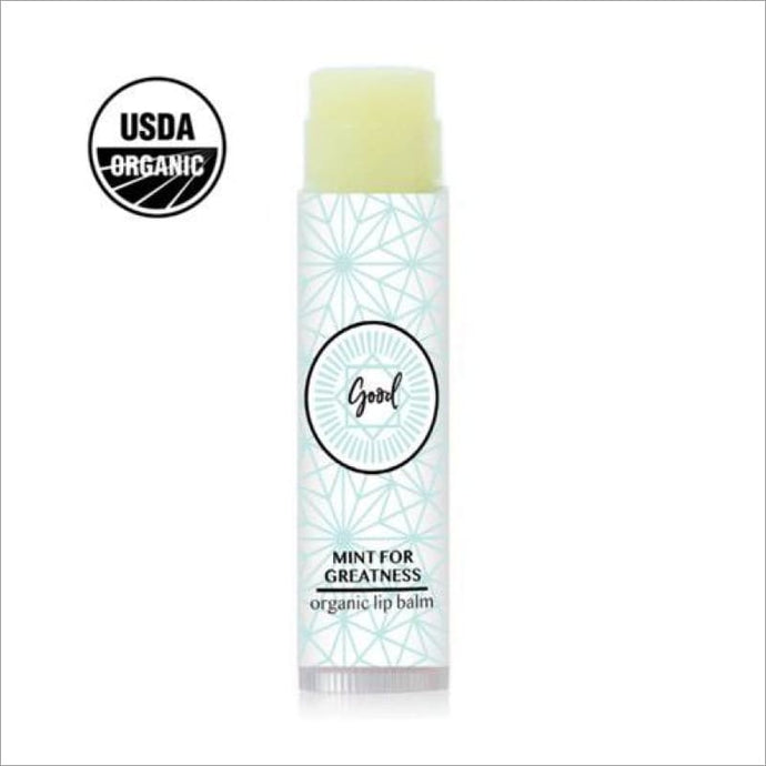 Organic Natural Lip Balm - Mint