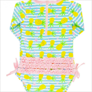 Pineapple Paradise One Piece Rash Guard