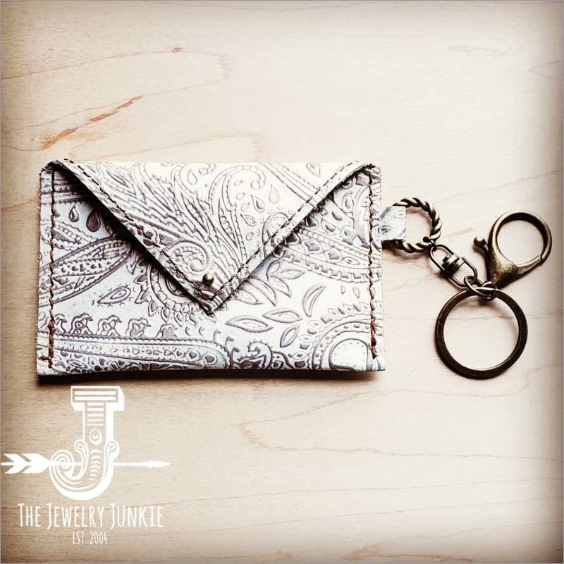 The Jewelry Junkie - Sierra Credit Card Wallet - Oyster Paisley