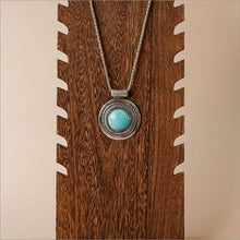 Turquoise Medallion Necklace Necklace Necklace Necklace